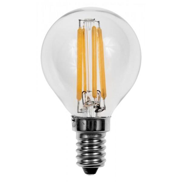 Лампа светодиодная LED G45 F 5W E14 3000K