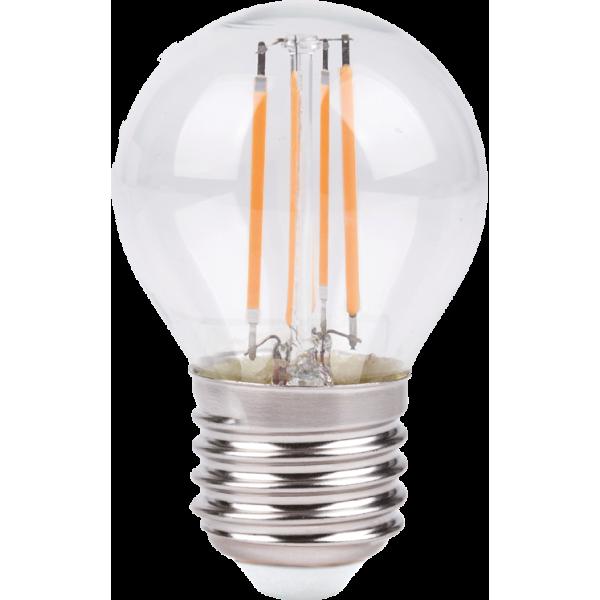 Лампа светодиодная LED G45 F 5W E27 3000K