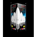 Светодиодная лампа LED C37 5W E27 4000K
