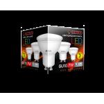 Лампа светодиодная LED GU10 7W 3000K
