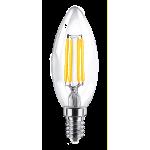 Светодиодная лампа ULTRA LED C35 F 4W E14 3000K