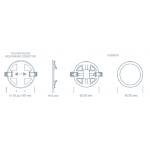 Светодиодный светильник ULTRA LED SP 2 20W 4000K регулируемый