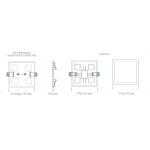 Светодиодный светильник ULTRA LED SP 2S 15W 4000K регулируемый