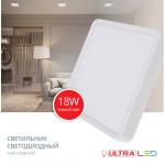 Светодиодный светильник ULTRA LED NP S 18W 3000K NEW