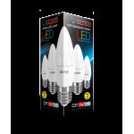 Лампа светодиодная LED C37 7W E27 4000K